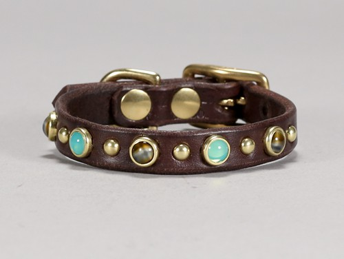 gemstone collar for toy breed dogs