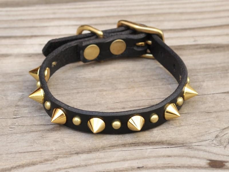 Spiked Collar For Toy Dogs