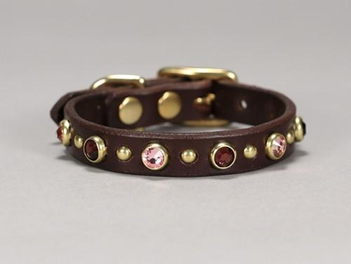 toy swarovski leather dog collar 001b copy