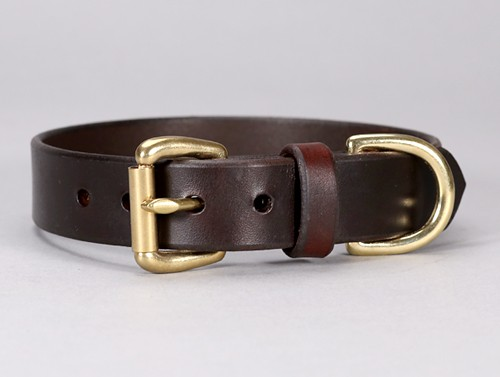 Basic Leather Dog Collar