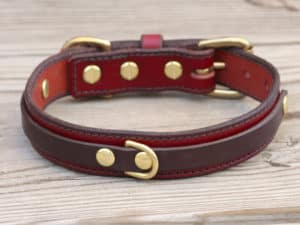 1 louis leather dog collar 090315