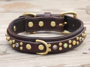 125 artemis dlx leather dog collar 082215