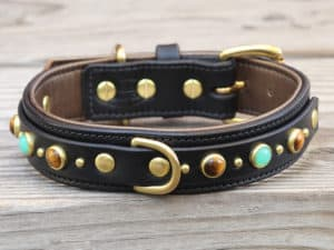 125 diego leather dog collar 090515
