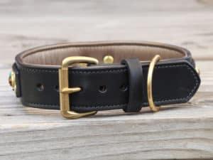 15 diego leather dog collar 090515b