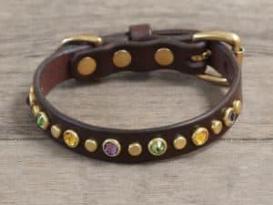 58 artemis leather dog collar 073115