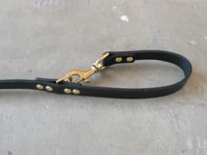 Cafe Lead 5 leather dog leash