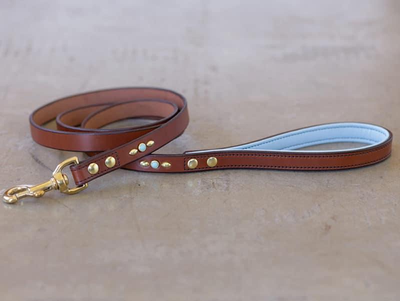 Custom Leather Dog Leash