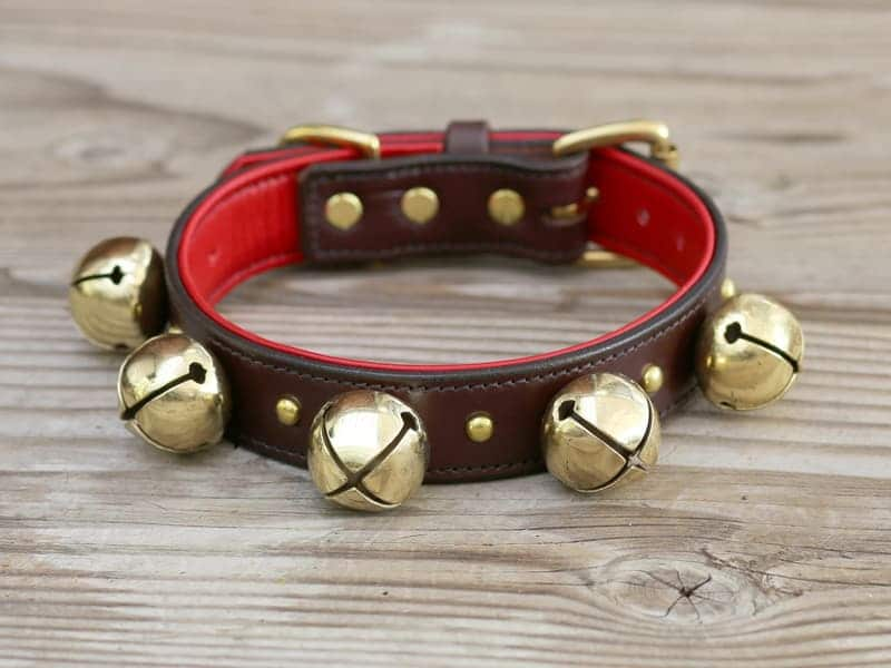 Barton Bell Leather Dog Collar