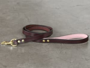 34 lined leash