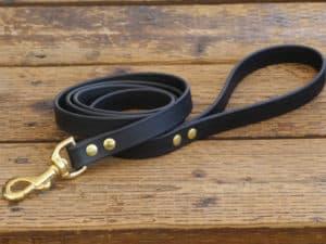 vegan basic leash black