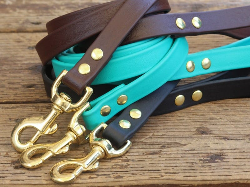 vegan basic leash stack