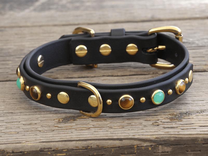 1-vegan-diego-black-dog-collar