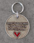 heart id tag large steel 2