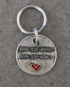 heart id tag small steel 2