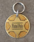 sheriff id tag large brass front