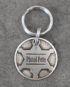 sheriff id tag small steel front